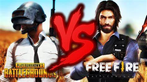 PUBG mobile vs free fire which one to play?