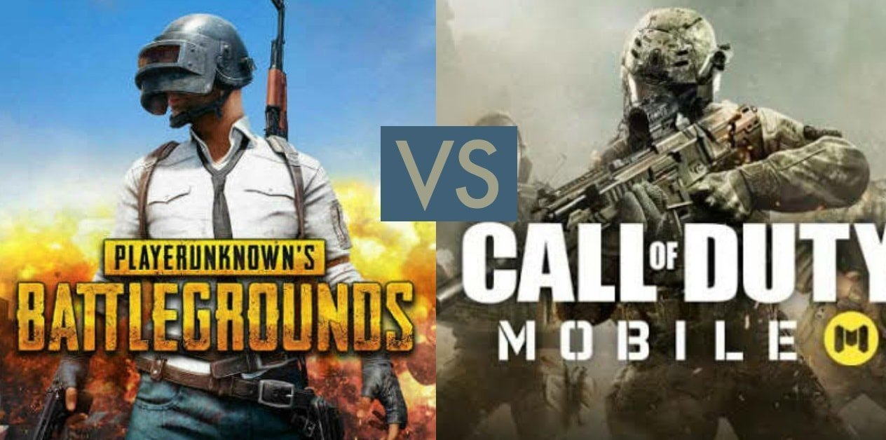 PUBG mobile VS call of duty mobile: which one to play