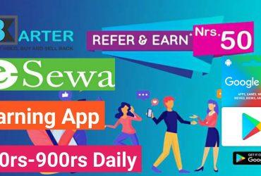 Earn from barter app